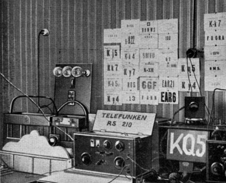 """Die erste Amateurfunkstation in Kassel, die """"KQ5"""""""
