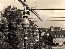 Der Kurzwellenbeam auf dem Dach des Hermann-Schafft-Hauses