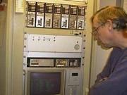 Henning, DG9FU, erklärte die Technik von DB0EAM