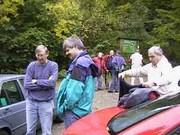 Vom Parkplatz begann der Aufstieg zum Bärenberg