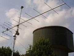 10-El.-Yagi mit Vorverstärker sorgte für ausreichend laute Signale auf 144 MHz