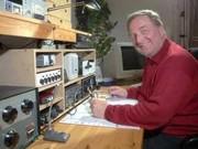 Bernd, DK1DU, bediente die Jäger und Sammler in Morsetelegrafie