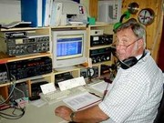 Harald, DJ3AS, war oft auf 40 m QRV