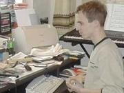 Markus, DO3FMK, bediente umliegende FM-Relaisfunkstellen auf 2 m und 70 cm