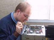 Ob der Abstimmknopf vom UKW-Gerät zu retten ist?