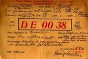 Franz Noether, Hörberichte an F8jms, Paris, vom 03. und 24.12.1925 (Bild: Dokumentationsarchiv Funk/QSL Collection, Sammlung F2VX)