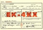 NN, Hörbericht an EAZE, Emmerich Zemrosser, Baden bei Wien, vom 24.09.1928 (Bild: Dokumentationsarchiv Funk/QSL Collection)