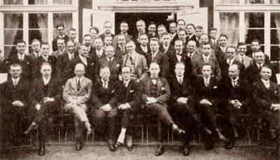 Teilnehmer an der DASD-Kurzwellentagung Kassel, 1927 (Bild: Dokumentationsarchiv Funk/Nachlass DL1CU)