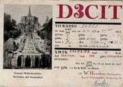 Weitere QSL-Karte von D3CIT (Bild: Dokumentationsarchiv Funk/QSL Collection)