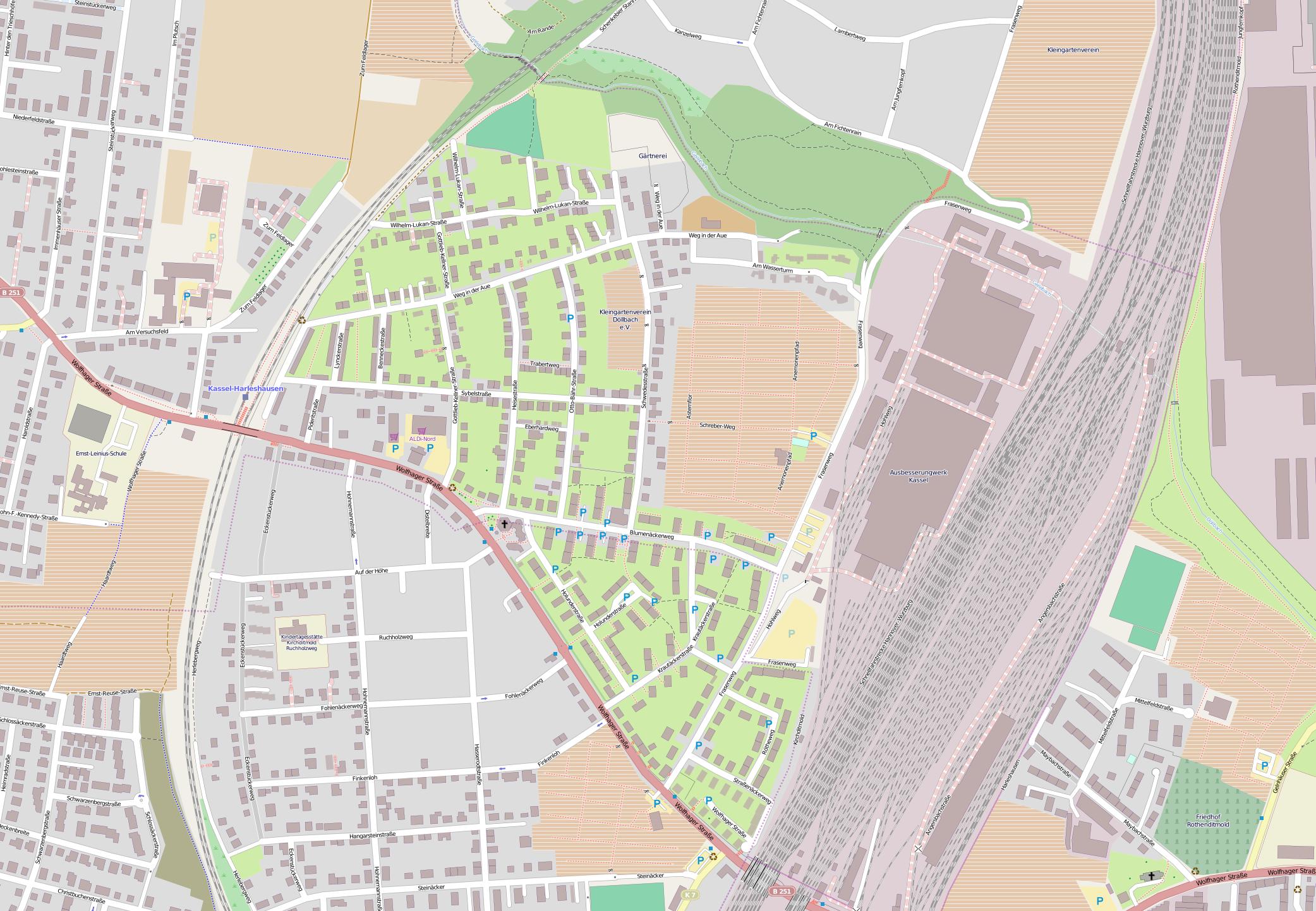 Openstreetmap: Zum Hopfengärtchen, Am Frasenweg 25A