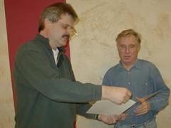 40 Jahre ist Ernst, DL2ZAA, dabei