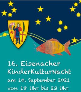 Kinderkulturnacht Eisenach 2021 Flyer